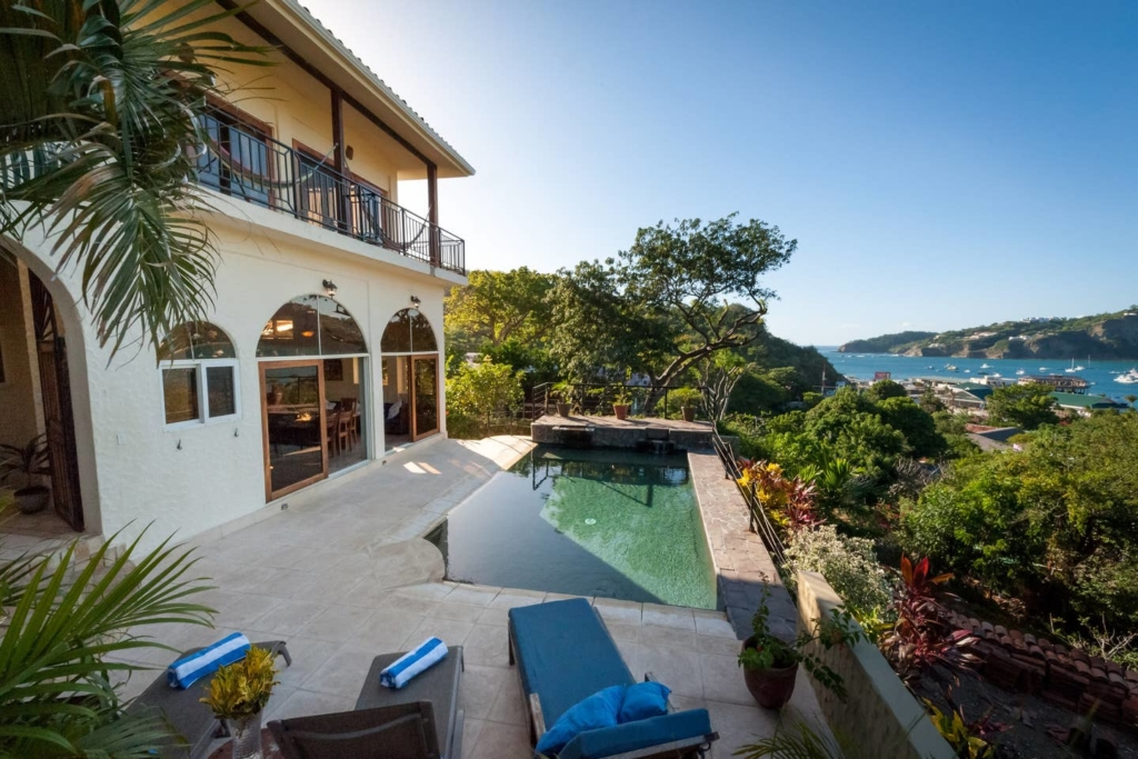 Check out this amazing pool and view
