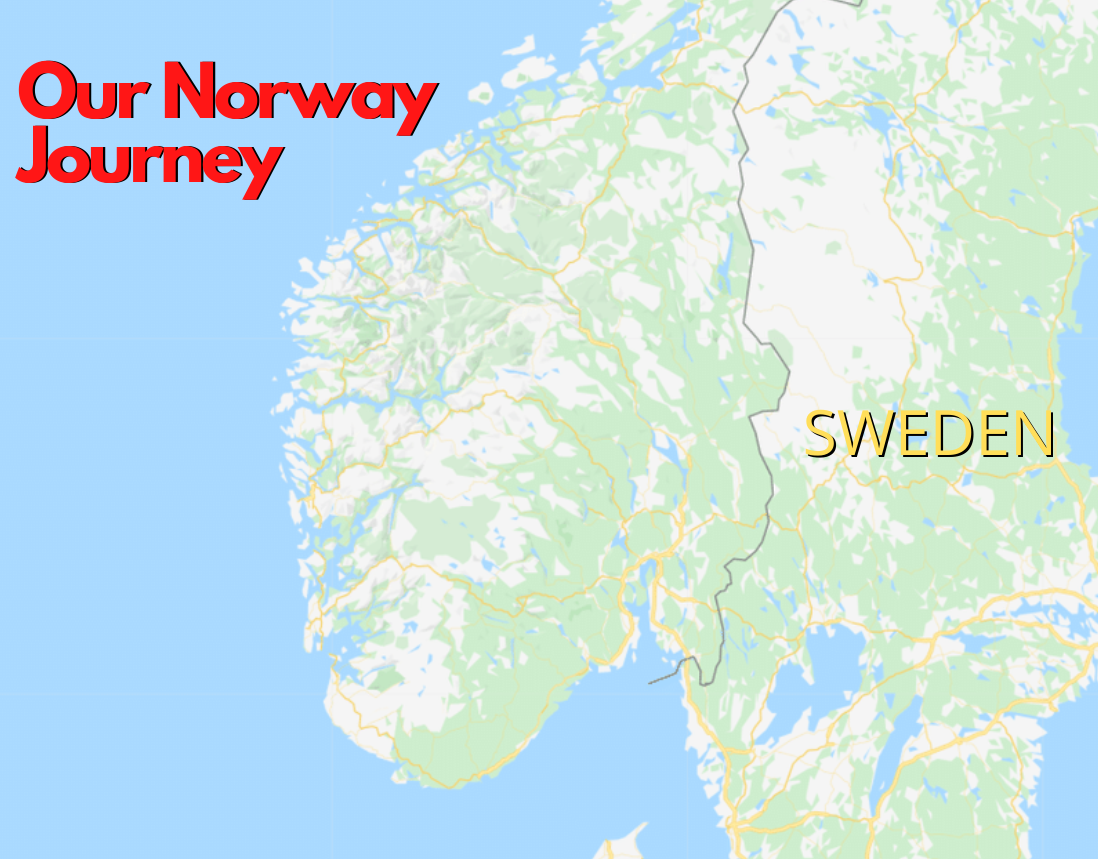Norway Interactive Map